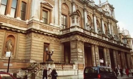 The Royal Academy's Burlington Gardens building via The Guardian