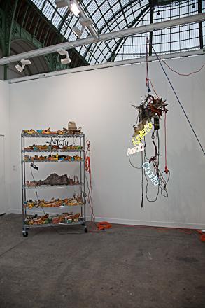David Zwirner's booth