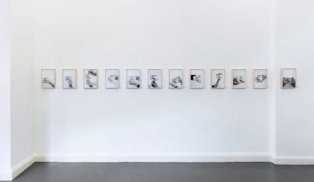 "Exhibition view, ""Studies for a Monument to the Bourgeois Working Class,"" Christian Jankowski, 2012"