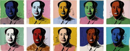 Warhol Mao Portfolio via Phillips