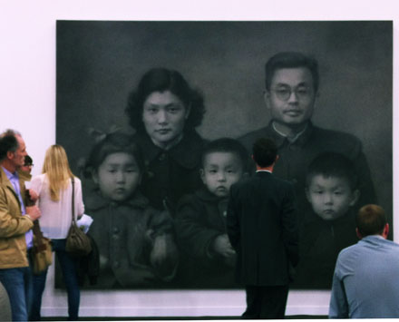 Zhang Huan at White Cube