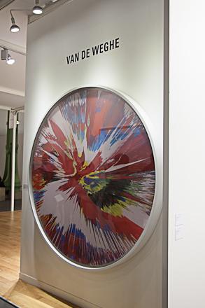 Damien Hirst at Van der Weghe