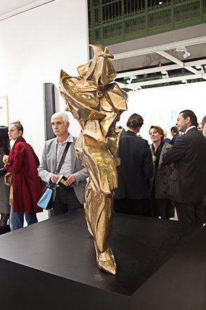 Francesco Vezzoli sculpture, 2012