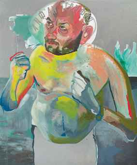 Martin Kippenberger (1953-1997) Untitled (from the series Hand-Painted Pictures) via Christie's