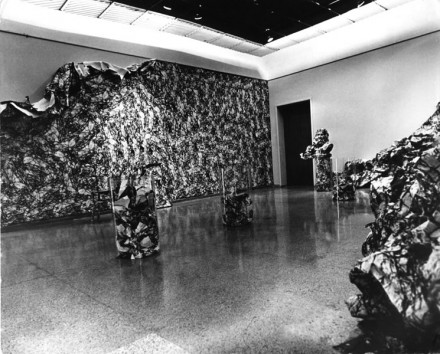 Liliana Porter, Enviroment Installation, 1969 in The Museum of Fine Arts Caracas