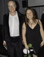 Curator Hans Ulrich Obrist and artist Rachel Sussman