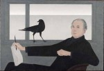 1981 self portrait of Will Barnet via WNYC