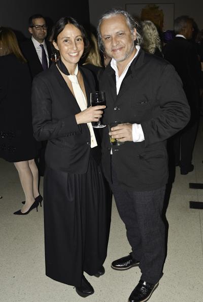Maria Gutierrez and Gabriel Orozco