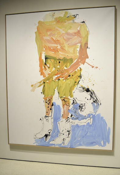 Artwork by Georg Baselitz