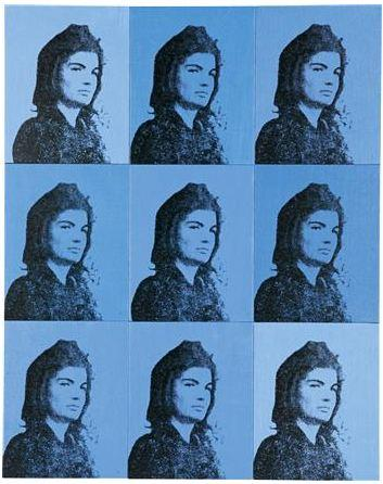 Andy Warhol Nine Jackies courtesy Phillips de Pury & Co