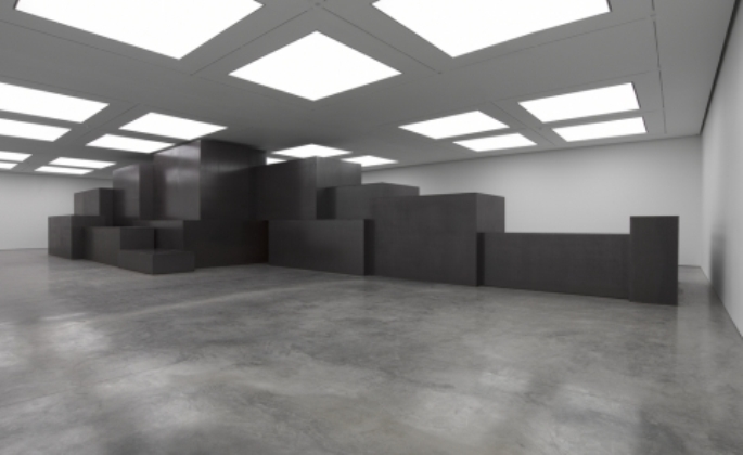 Antony Gormley, White Cube, Model - Model (2012)