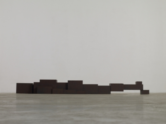 Antony Gormley, White Cube, Model -Tender (2012)