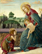Botticelli Madonna and Child With the Infant St John the Baptist