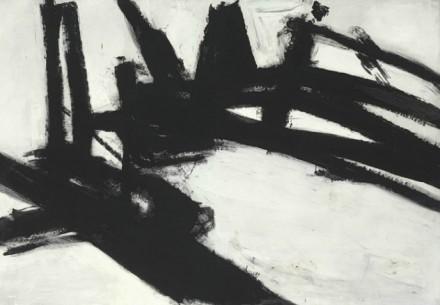 Franz Kline Untitled courtesy Christie's
