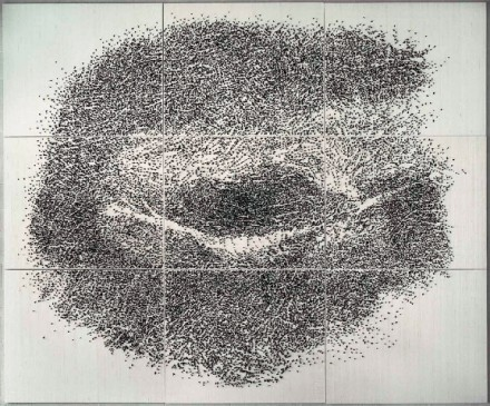 GIUSEPPE PENONE Contatto—occhio destro di R..., 2009 via Gagosian