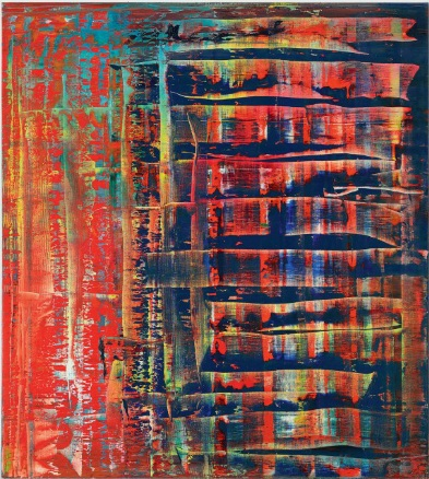 Gerhard Richter Abstraktes Bild 779-2 courtesy Christie's