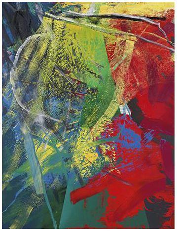 Gerhard Richter Kegel courtesy Phillips de Pury & Co