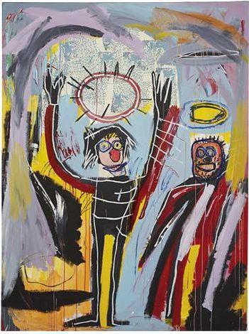 Jean Michel Basquiat Humidity courtesy Phillips de Pury & Co