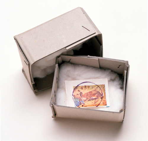 Joseph Beuys American Hare Sugar 1974