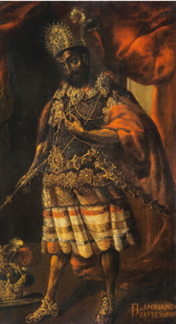 Portrait of Moctezuma II