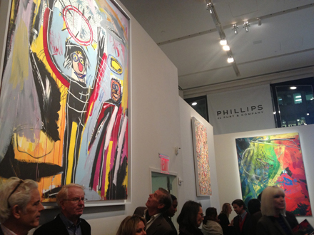 Phillips de Pury saleroom photo by ArtObserved