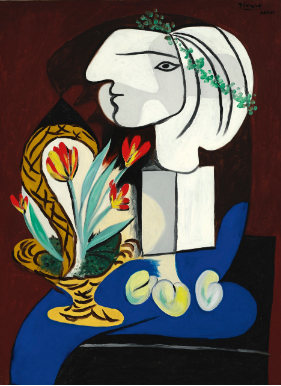 Picasso Nature Morte Aux Tulipes