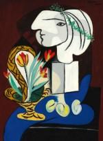 Picasso Nature Morte aux Tulipes via Sothebys