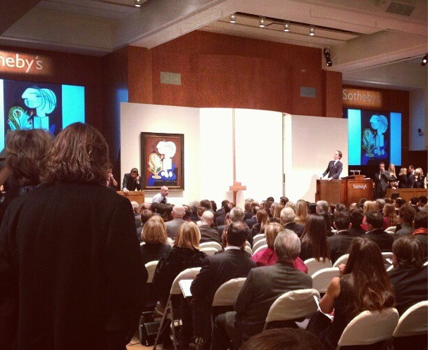 Picasso at Sothebys