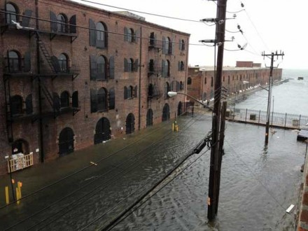 Red Hook Flooding via The Art Newspaper