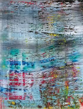 Richter Abstraktes Bild 1990 Sothebys