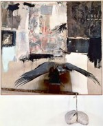 Robert Rauschenberg-Canyon-Combine via NYTimes