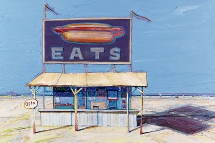 Thiebaud Hot Dog Stand 2004-12 Courtesy Acquavella Galleries