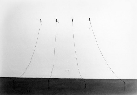 Liliana Porter, Untitled (Nails), Installation at Museum of Modern Art, 1973, courtesy the artist