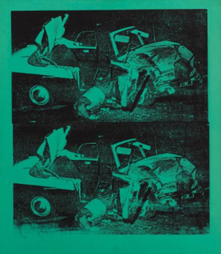 Warhol Green Disaster Green Disaster Twice