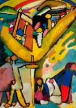 Wassily Kandinsky  - Studie für Improvisation 8  - Christie's - Impressionist and Modern Sale - 2012