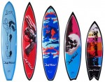 Warhol inspired surfboards