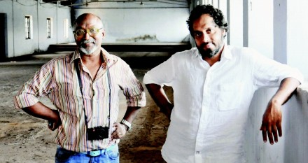 Bose Krishnamachari and Riyas Komu in November, via Times of India