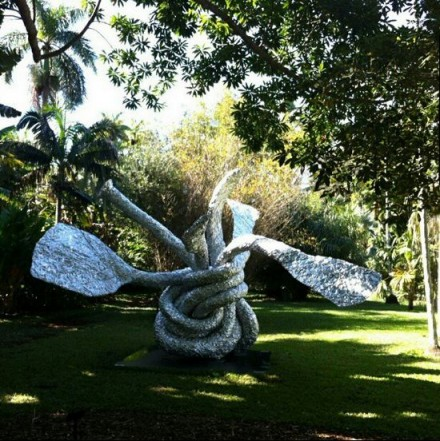 Chamberlain at Botanical Gardens Miami