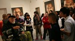Chuck Close, Pace Gallery, photo by Kirsten Luce for The New York Times