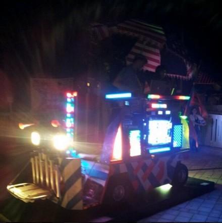 DJ Booth at Nada Pool Party