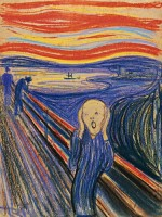 Edvard Munch The Scream via Bloomberg courtesy Sotheby's