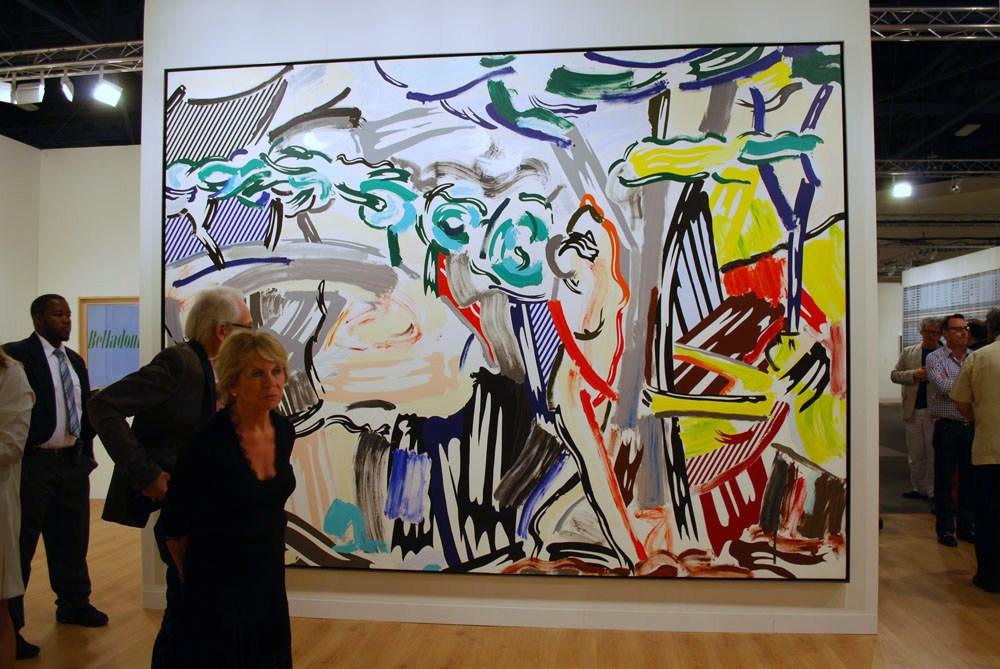 Roy Lichtenstein Girls Gagosian Gallery Richard