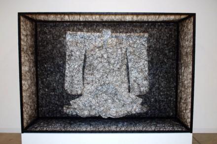 Galerie Daniel Templon, Chiharu Shiota, State of Being (Wedding Kimono) (2012)