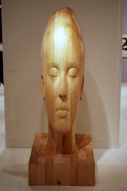 Galerie Lelong, Jaume Plensa, Marianna H (2012)