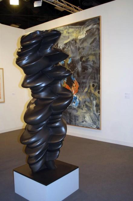 Galerie Thaddaeus Ropac, Georg Baselitz, Drei voran (2012), Tony Cragg, Accurate Figure (2010)