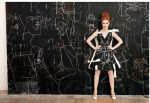 George Condo-Jessica Chastain-Spatial Notations via W Mag