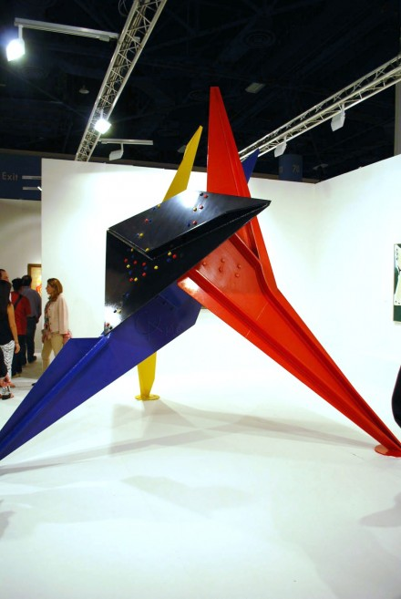 Helly Nahmad Gallery, Alexander Calder, Tableau Noir (1970)