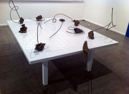 Ibid Projects, Art Nova - Marianne Vitale, Douchebag 1-9 (2012)