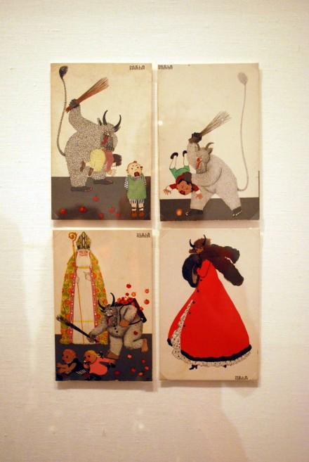 Mela-Kohler-Krampus-Card-x4-1911