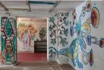 Wandmalereien im Dix-Haus in Hemmenhofen entdeckt
